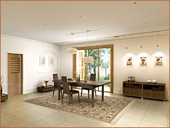 Virtual image of Jardines de Coson development interior