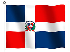 Image of Dominican Republic Flag