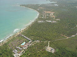 Arial view of Jardines de Coson development